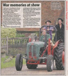 6 April 2012 Warks Telegraph
